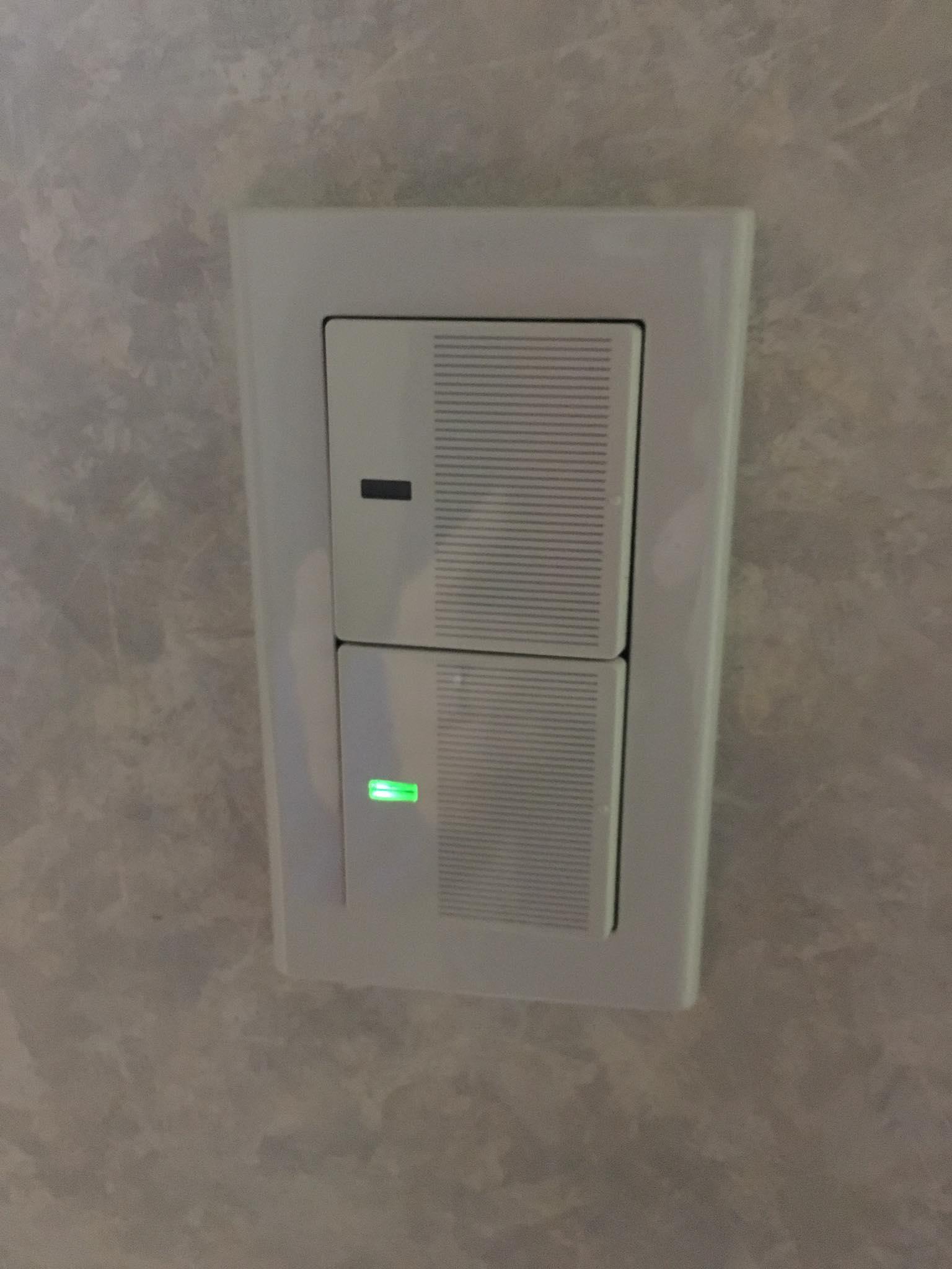 照明のスイッチの交換_after