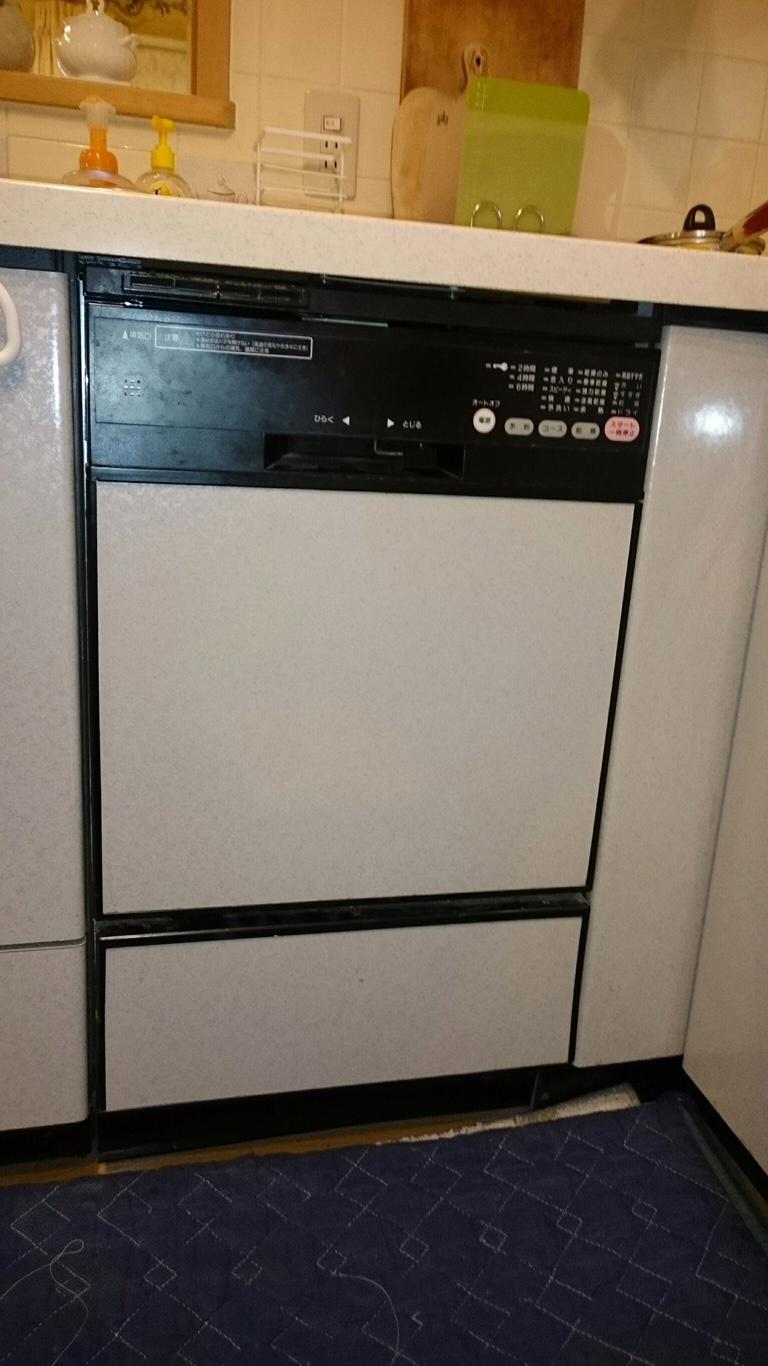 ビルトイン食器洗い機の入替_before