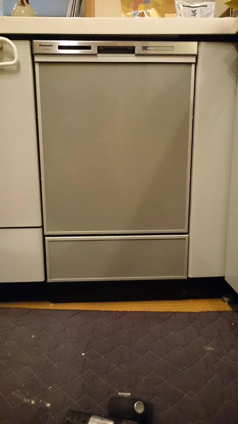 ビルトイン食器洗い機の入替_after